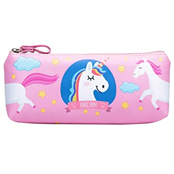 27ee01683c Buy Climberty PU Pencil Cases Pouch Bag with Zipper Unicorn Pattern Pencil  Pouches
