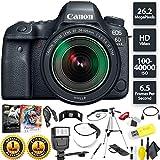 Canon EOS 6D Mark II DSLR Camera + 24-105mm f/3.5-5.6 Lens Base Combo