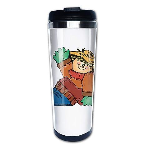 Amazon.com: Lojaon Coffee Cup Tumbler Mug 304 Stainless ...
