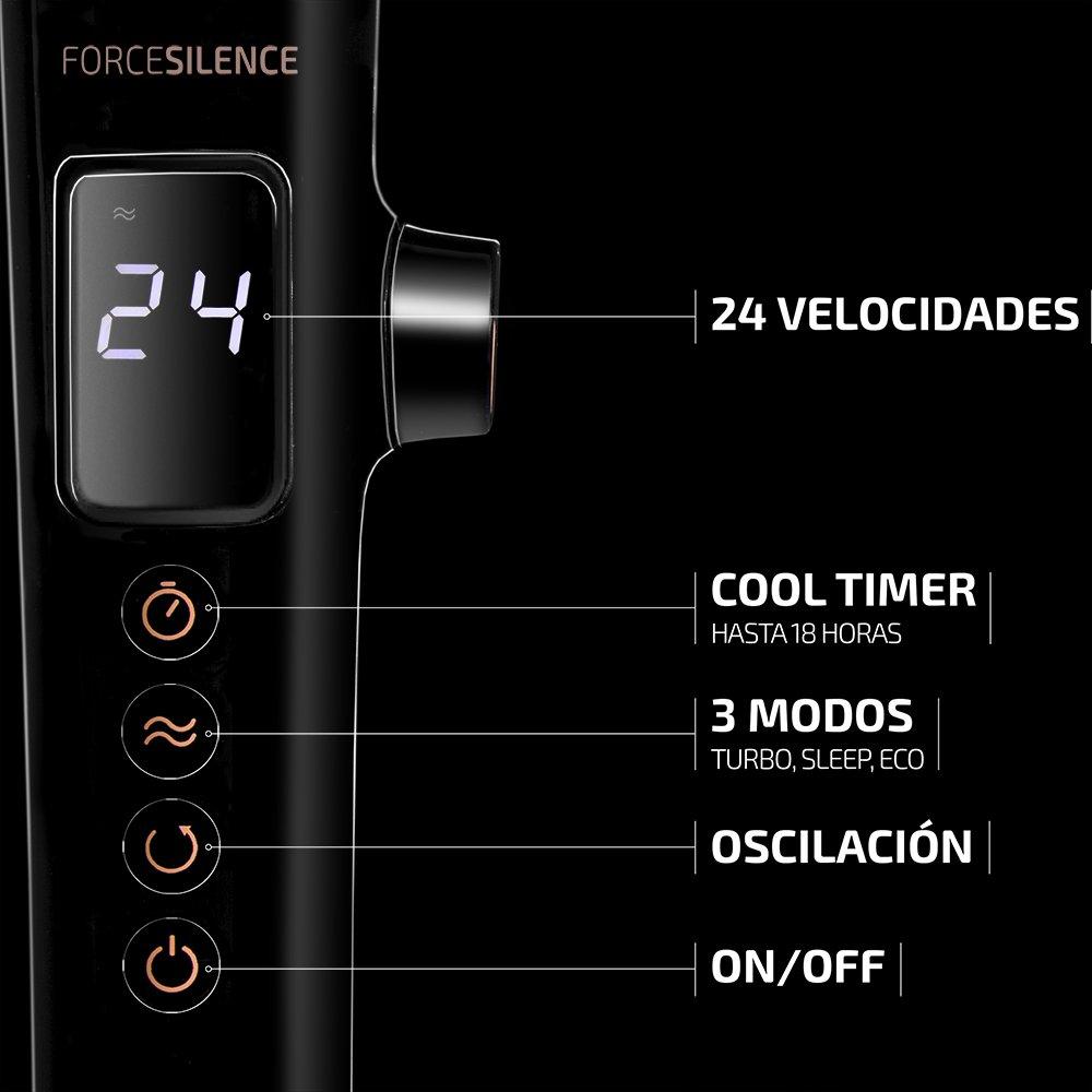 Ventilador de Pie Cecotec Forcesilence Smartextreme 28 W: Amazon.es: Hogar