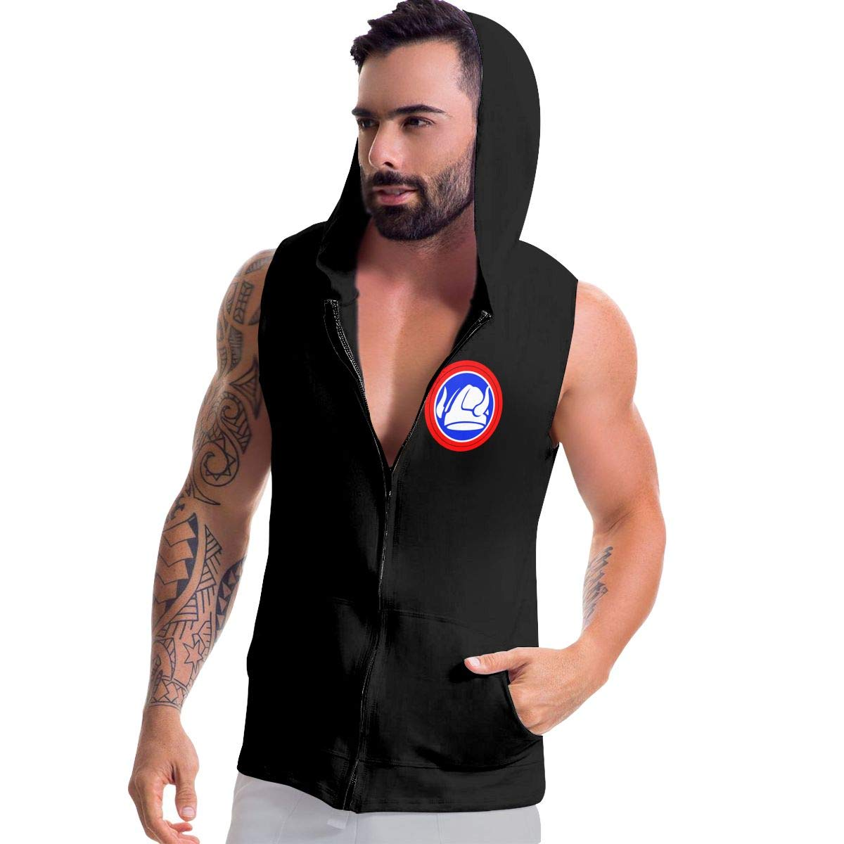 47th Infantry Division Mens Hipster Hip Hop Hoodies Shirts
