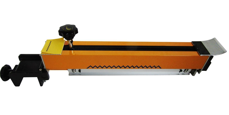 Swatch muestra cortador tóner Zig Zag gamuza de Swatch muestra cortador de máquina de corte de tela tejido: Amazon.es: Bricolaje y herramientas
