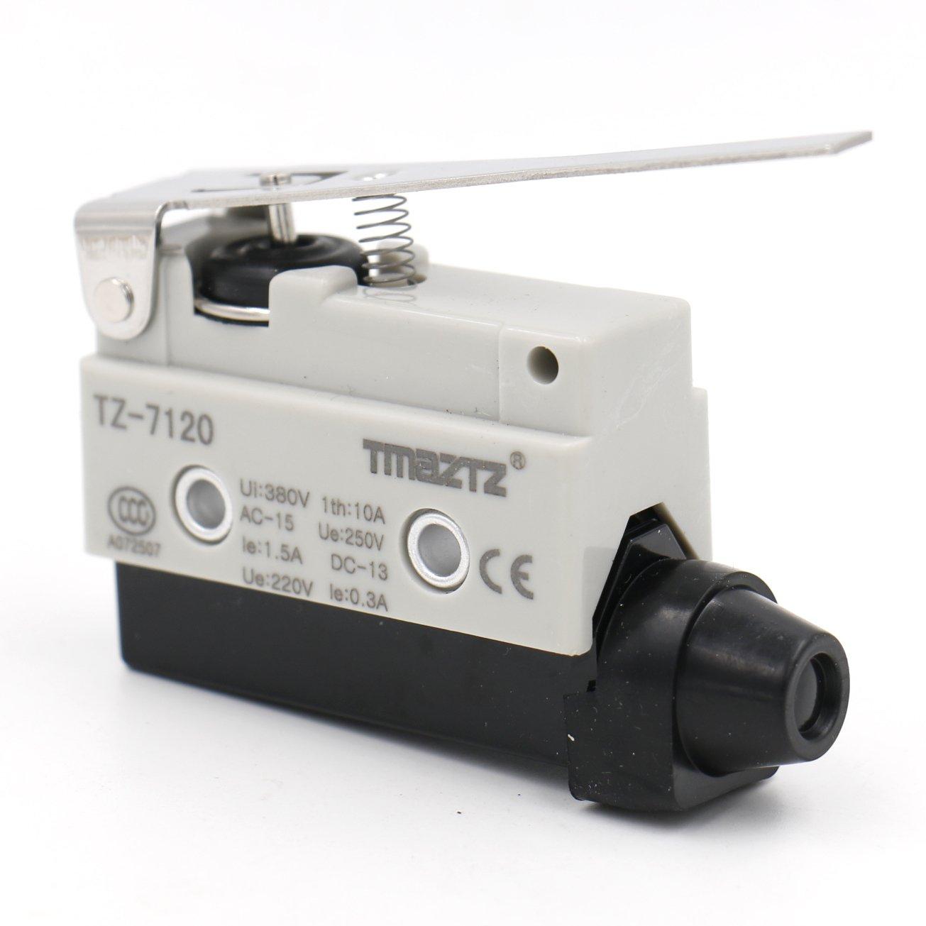 Heschen horizontal Limit commutateur Tz-7120 Momentray Charniè re Levier actionneur AC 380 V 10 A unipolaire Yongde Industrial switch