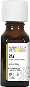 Aura Cacia Pure Bay Essential Oil | 0.5 fl. oz. | Pimenta racemosa