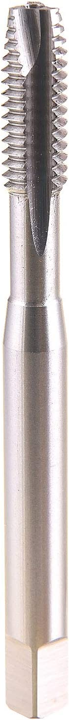 MAXTOOL 5//16-18UNC Spiral Point Taps with long shank for deep holes 18 TPI HSS M2 Fully Ground Right Hand; SPF02W11R20