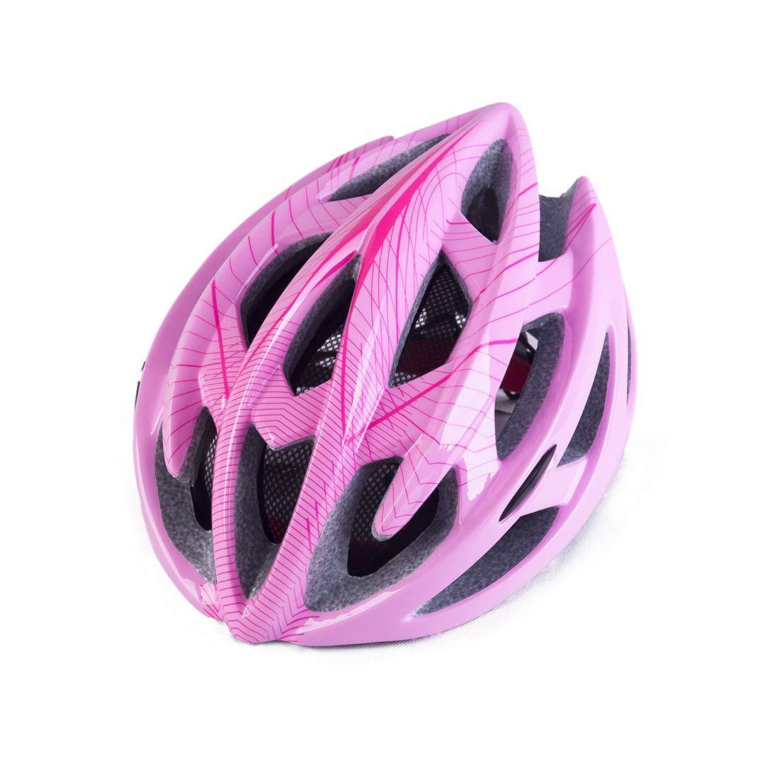 tgbvr Casco de Bicicleta Bicicleta de montaña Bicicleta con Red ...