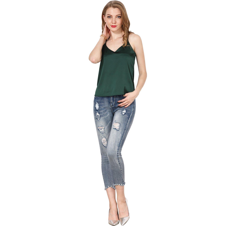 d2b183c21d3 Shy Velvet Women Summer Cami Camisole Halter Top Plus Size Tank Top Sexy V  Neck Crop Top