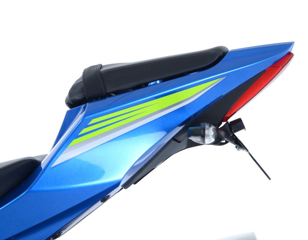 Support de plaque SUZUKI 1000 GSX-R Noir RG RACING