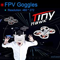 EMAX Tinyhawk Brushless 600TVL Camera RC Racing Drone with FPV Goggles Transmitter Shoulder Bag RTF