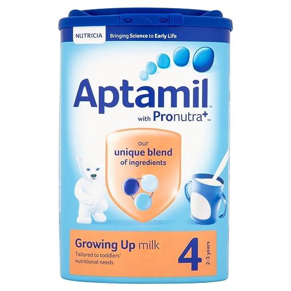 Aptamil Crecer Leche En Polvo Para Bebés 2Yr + (800g) (Paquete de 6