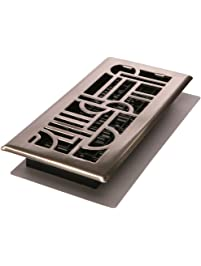 Decor Grates ADH410 NKL Art Deco Floor Register.