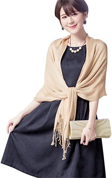 Wedding Party Women Scarf Large Shawl Wraps for Evening Dress