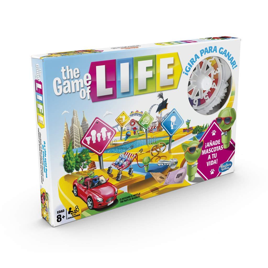 Hasbro Gaming - Game of Life Board Game, Multicoloured, Single (E4304105)