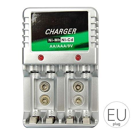 Elenxs Portátil de Viaje Cargador de batería Recargable del ...