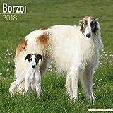 Borzoi Calendar - Dog Breed Calendars - 2017 - 2018 wall Calendars - 16 Month by Avonside