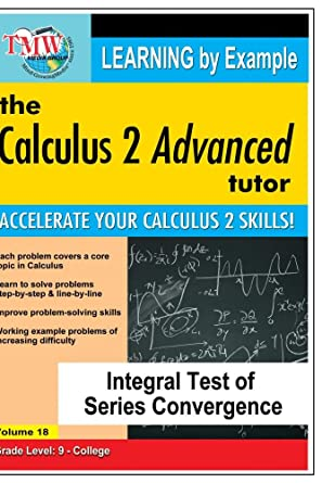 Amazon.com: Calculus 2 Advanced Tutor: Integral Test of Series ...