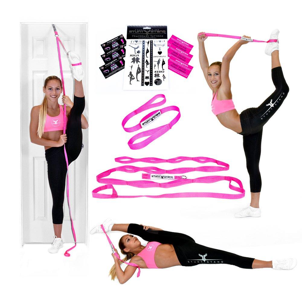 Flexible chubby teen stretching — 14