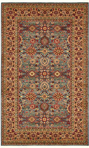 Heritage Traditional Rugs - A2Z Rug Heritage Collection Persian Traditional Area Rug Blue, Brown - 5' x 8' FT High Class Living Dinning Room & Bedroom Rugs, Oriental Floor and Carpets