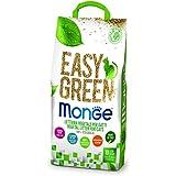 Monge lettiera easy green gatto gatti furetti rettili cat 10 litri biodegradabile wc