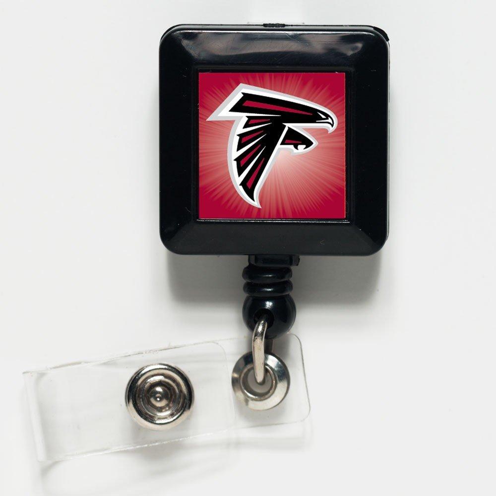 WinCraft NFL Atlanta Falcons 14124031 Retractable Badge Holder