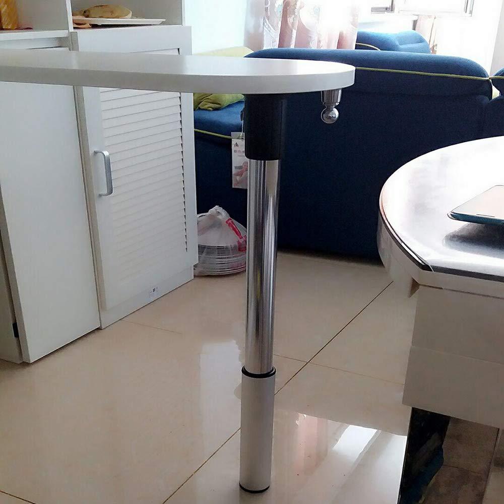 table leg WYZQQ Verstellbare Tischbeine klappbarer Tischfu/ß teleskopierbare M/öbelbeine