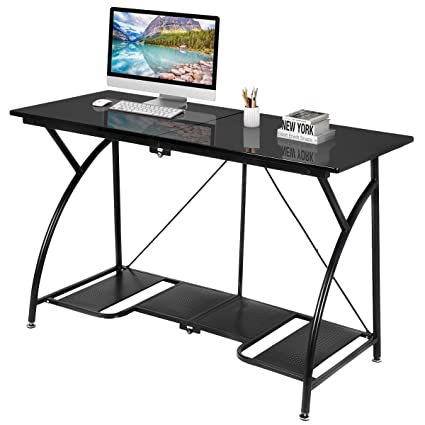 Useful Folding Computer Desk Writing Table Foldable Workstation Home Office Furniture Computers/tablets & Networking