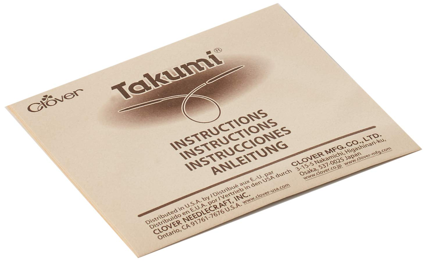 Clover 3683 Interchangeable Circular Knitting Needles Takumi Combo Set by Clover (Image #4)