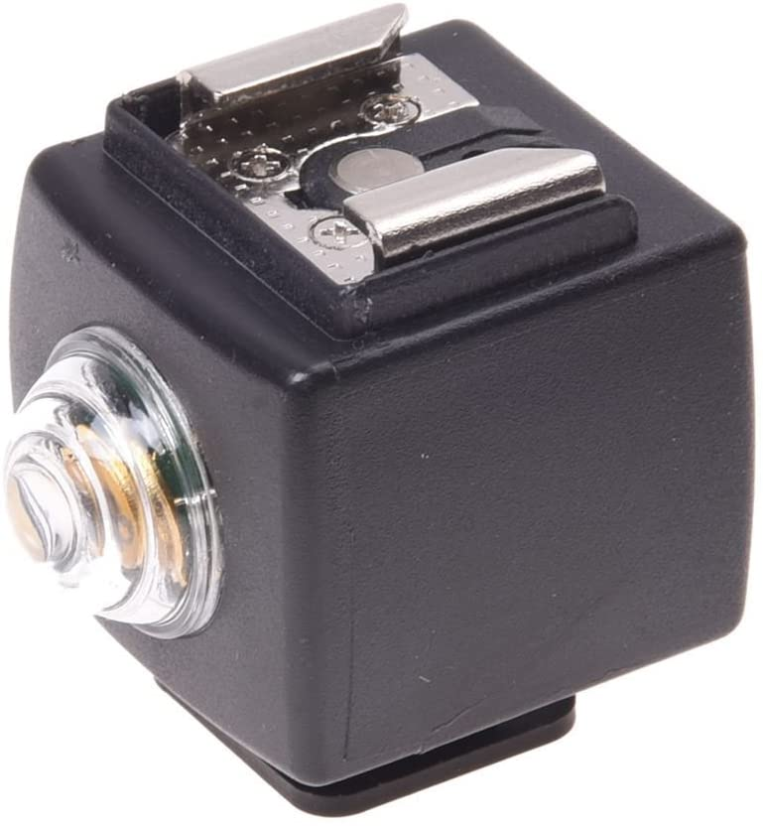 TOOGOO(R) Disparador esclavo remoto de lua flash zapato caliente inalambrico para Nikon Pentax Canon SYK-3