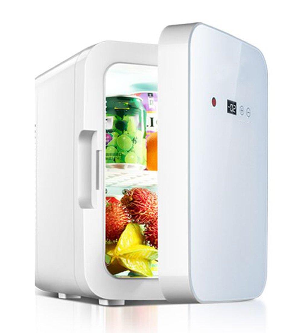 LIQICAI 22L Elektrische Kühlbox Auto und Zuhause Minikühlschrank Erhitze/12V DC (Auto)/220V AC (Zuhause), Intelligente Digitalanzeige Temperatur einstellbar