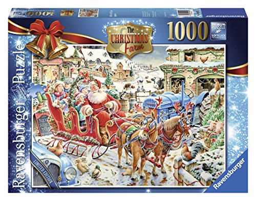 Ravensburger Christmas 2014 Limited Edition Puzzle: The Christmas Farm (1000