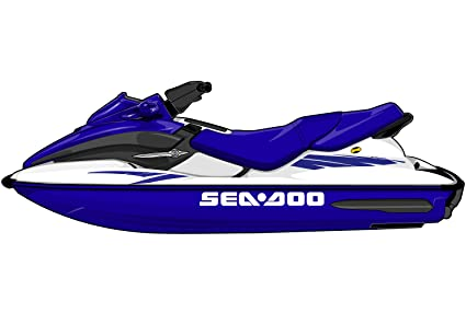 amazon com seadoo gtx gti graphic kit es0001sgt sports outdoors rh amazon com 2001 seadoo gtx di shop manual 2001 Sea-Doo GTX Specs