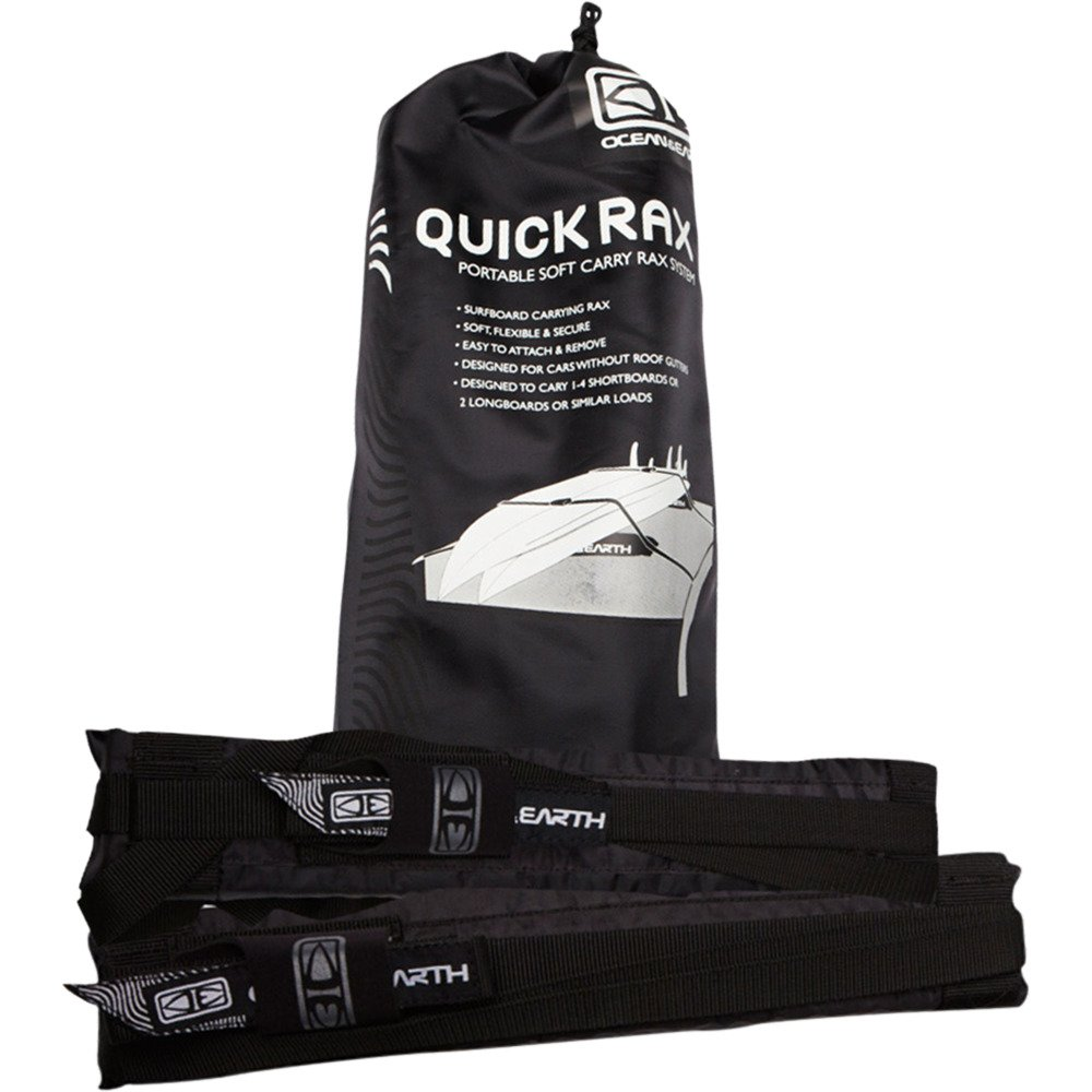 Ocean and Earth Surfboard Quick Rax Black Soft Rack by Ocean & Earth