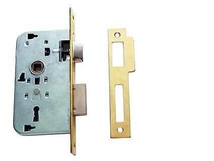 Tesa Assa Abloy, 200250HL Cerradura de embutir para puertas de madera 2002, Entrada 50mm