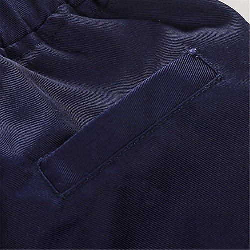 6c99912d6 Tem Doger Toddler Baby Boys Gentle Long Sleeve Striped Shirt+Bowtie+Suspender  Pants Set