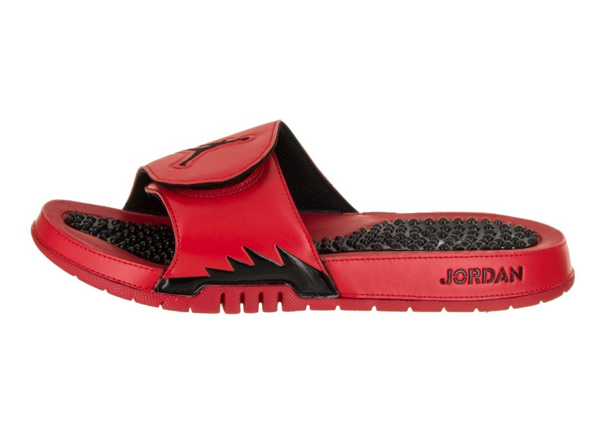 8837fb3fb Amazon.com   Jordan Hydro V Retro 5 University Red Black-Black (9 D(M) US)    Sports   Outdoors