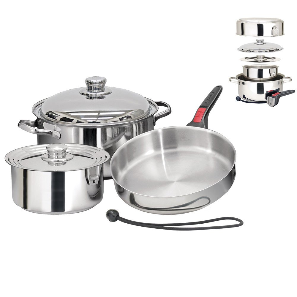 Magma Nestable 7 Piece Induction Cookware by Magma
