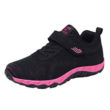 Amazon.com : Dainzuy Fashion Shoes For Women, Leisure Flying Weaving Breathable Mesh Non-Slip Flat Light Sneaker : Beauty