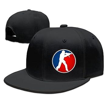 Bai xue Counter Strike Global Offensive logo – Gorra de béisbol sombrero, Negro