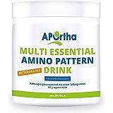 APOrtha Multi essential Amino Pattern Drink - 8 essentielle Aminosäuren - 400 g veganes Pulver (Bitterorange)