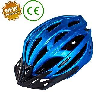 CARBUY Casco De Ciclismo De Carretera Y Montaña Integrado para ...