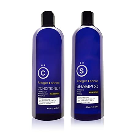 K + S Salon Men's Shampoo and Conditioner