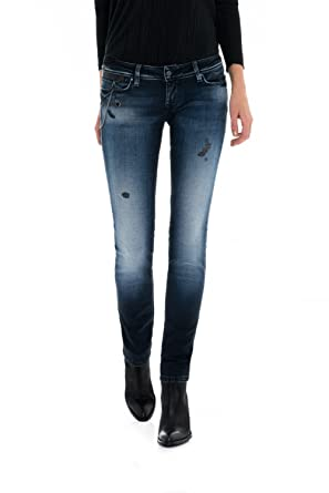 f7947d771b12 Salsa Push In Shape Up Slim Jeans With Chains  Amazon.co.uk  Clothing