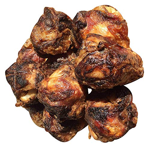 K9 Connoisseur Formerly Lillys Choice Dog Bones For Small and Medium Breed Dogs All Natural Meaty Beef Knee Cap Bone Made In The USA From Grass Fed Cattle Best For K9s Up To 50 Pounds (10 Pack)