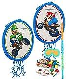 Mario Kart Wii Party Supplies - Pinata Kit by BirthdayExpress