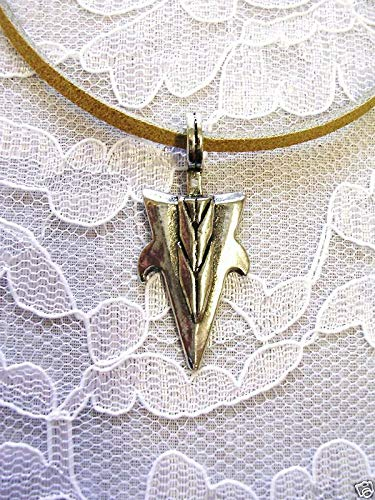 Spiked Arrowhead USA Pendant 20 CAMO Necklace KEZ-932