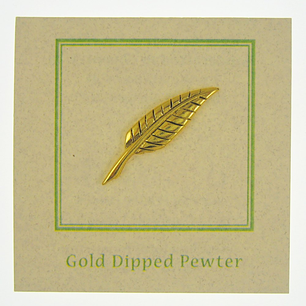 Jim Clift Design Quill Gold Lapel Pin - 25 Count by Jim Clift Design (Image #3)