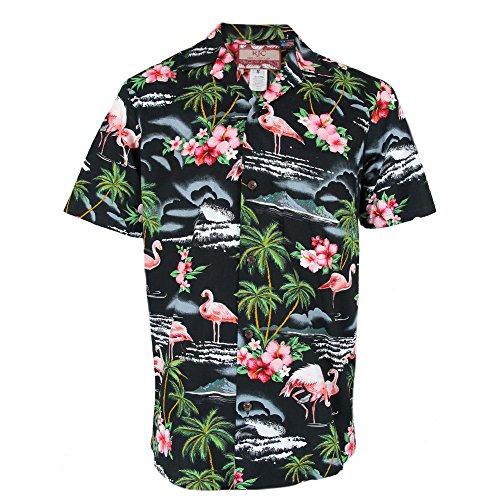 Clancey-Black-Flamingo-Rockabilly-Authentic-Hawaiian-Shirt