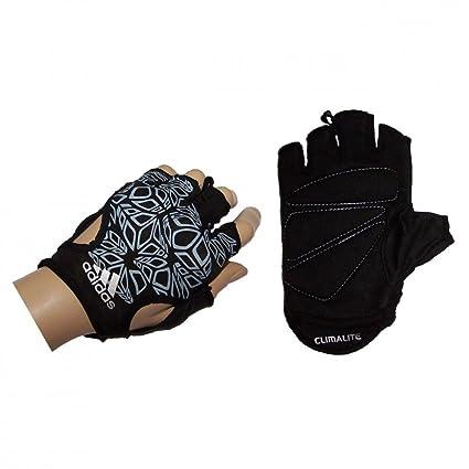 adidas ClimaLite Damen Fitnesshandschuhe gepolstert schwarz O59509