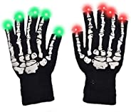 superwinky Colorful Flashing Light Up Gloves for Kids - Best Gifts