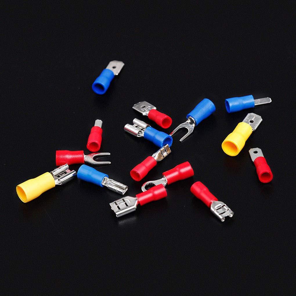 Set Crimp Cosse Butt connecteur Assortiment isol/é Fil /électrique Connecteur Lorsoul 280pcs